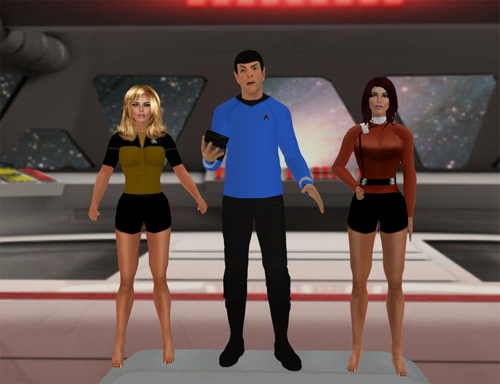 Star Trek on OSgrid and Hypergrid