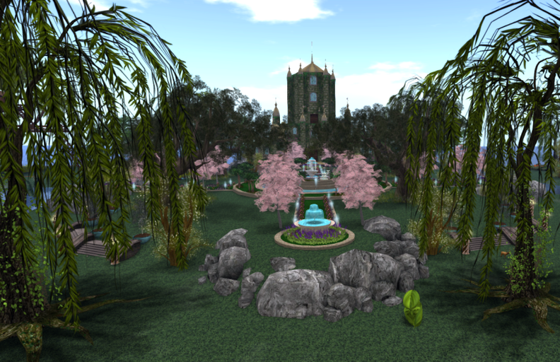 The Bonsai Fountain  and the Palace Of Hopes & Dreams  @ Indigo_001.png