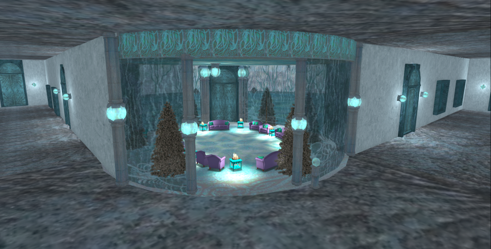 Wintervale Region - The Landscape - Frozen Palace inside 002