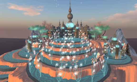 Wintervale Region - The Landscape - Frozen Palace inside 005