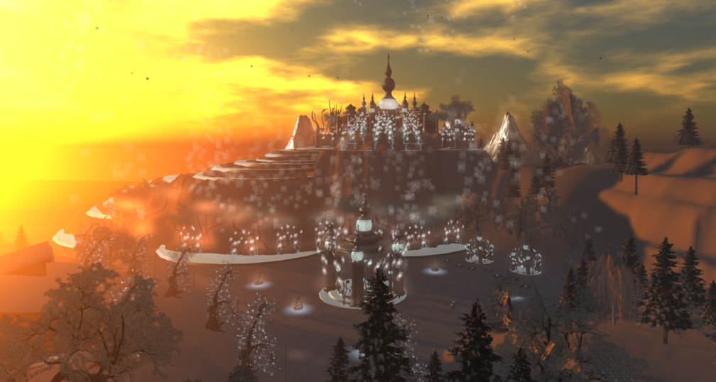 Wintervale Region - The Landscape - Frozen Palace 005