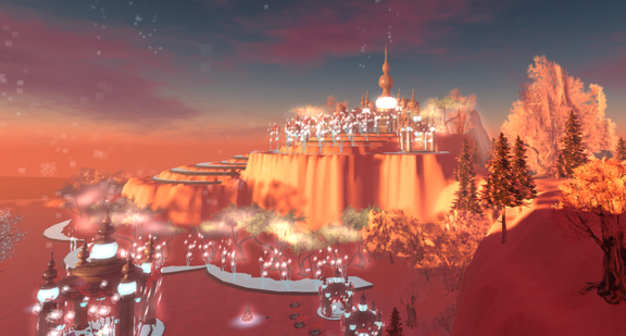 Wintervale Region - The Landscape - Frozen Palace 007