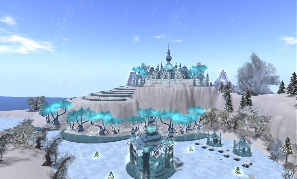 Wintervale Region - The Landscape & Skating Pond 003 002