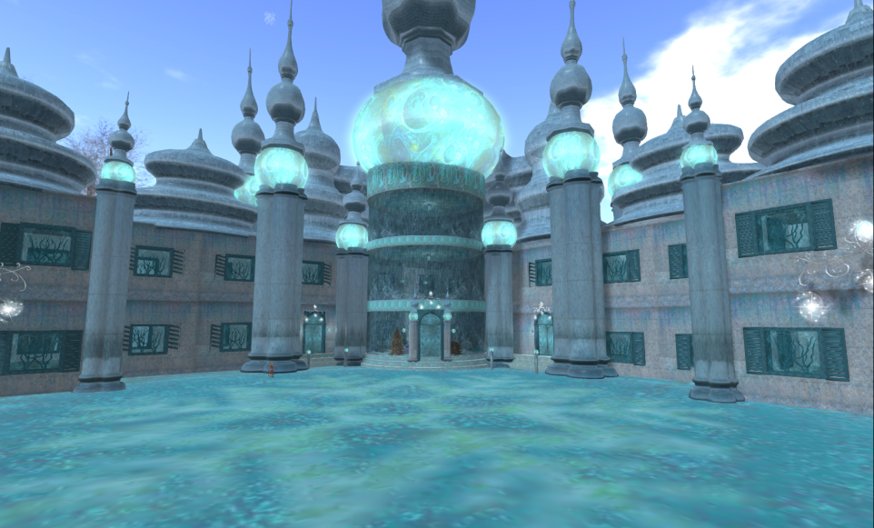 Wintervale Region - The Landscape - Frozen Palace inside 003