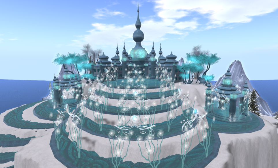 Wintervale Region - The Landscape - Frozen Palace inside 004