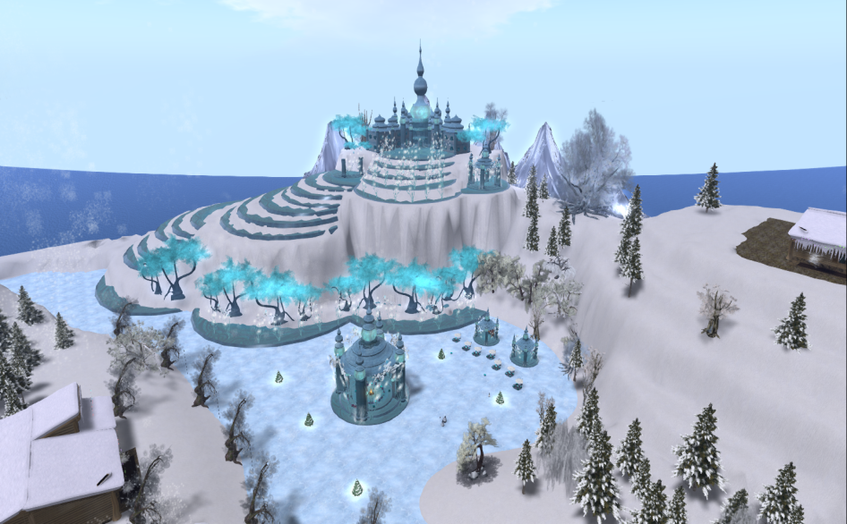 Wintervale Region - The Landscape - Frozen Palace 001