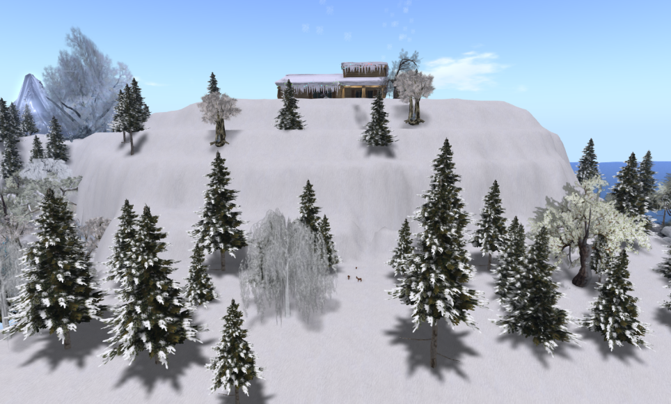 Wintervale Region - The Landscape - Kawaii's Mountain 001